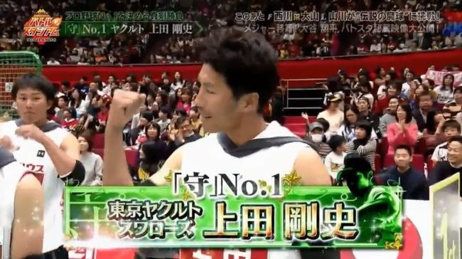 【ヤクルト】上田、守備力球界No. 1だった【バトルスタジアム】