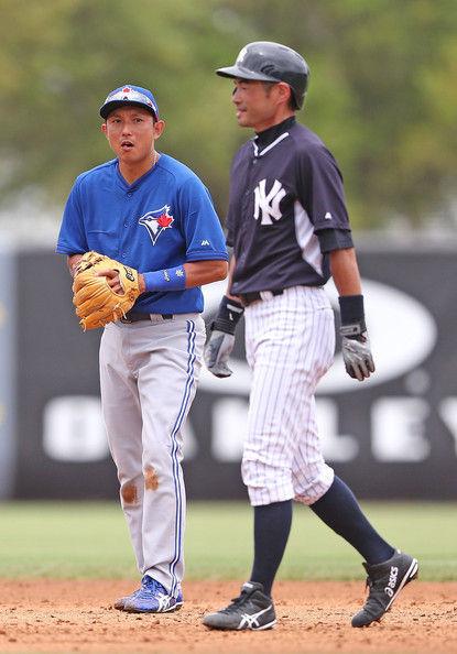 Ichiro+Suzuki+Munenori+Kawasaki+Toronto+Blue+uEsJdO_lyX1l