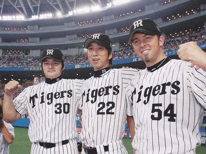 JFK('05-'08阪神) 通算62勝35敗153セーブ 361HP 防御率まあまあ