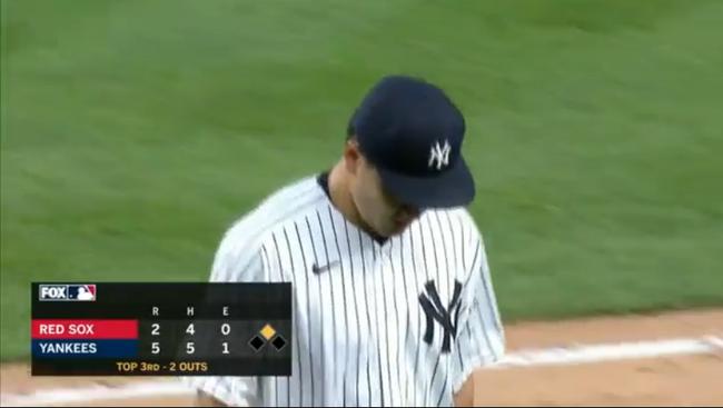 【MLB】ヤンキース・田中将大 今季初登板、3回途中4安打2失点で降板 白星ならず