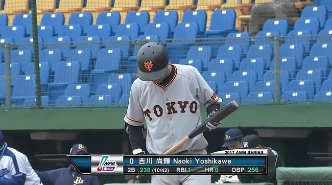巨人野手の台湾ウインターリーグ成績