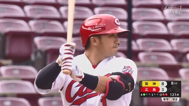 C-鈴木誠也(25).400 6本塁打13打点、四死球7 三振5、長打率.880出塁率.474 OPS1.354