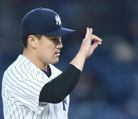 ヤンキース田中将大さん、7回1失点の好投で2勝目!!