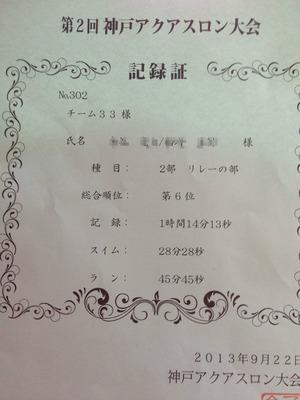 神戸アクアスロン