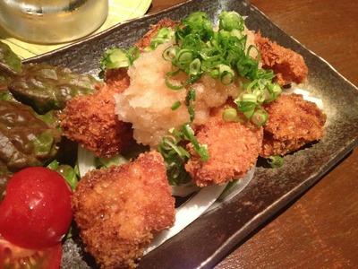 南風坊  琉球豚ひと口かつ シークァーサーおろしポン酢