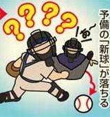 【高校野球】奈良予選で前代未聞のプレー 球審のボール袋から落ちた「新球」でタッチ