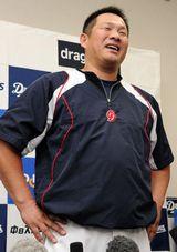 中日・山崎武司、現役引退を表明 今季2度目の二軍降格で決断