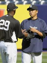 【ヤンキースで再会】16年前の黒田とソリアーノがスタメンの試合wwww