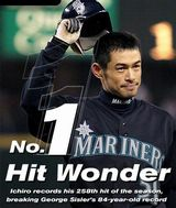 【MLB】イチローの通算状況別打率すごすぎwwwwwwwwww