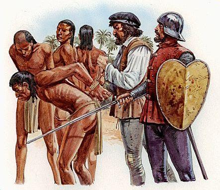 Columbus Discovers Puerto Rico