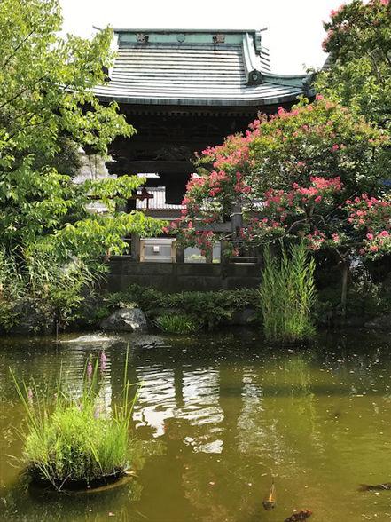 大師の池と鐘
