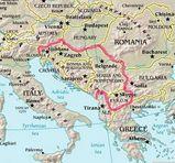 旧ユーゴスラヴィアのバルカン半島に占める位置