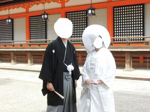 八坂神社・常磐新殿(京都)で挙式・披露宴をしました