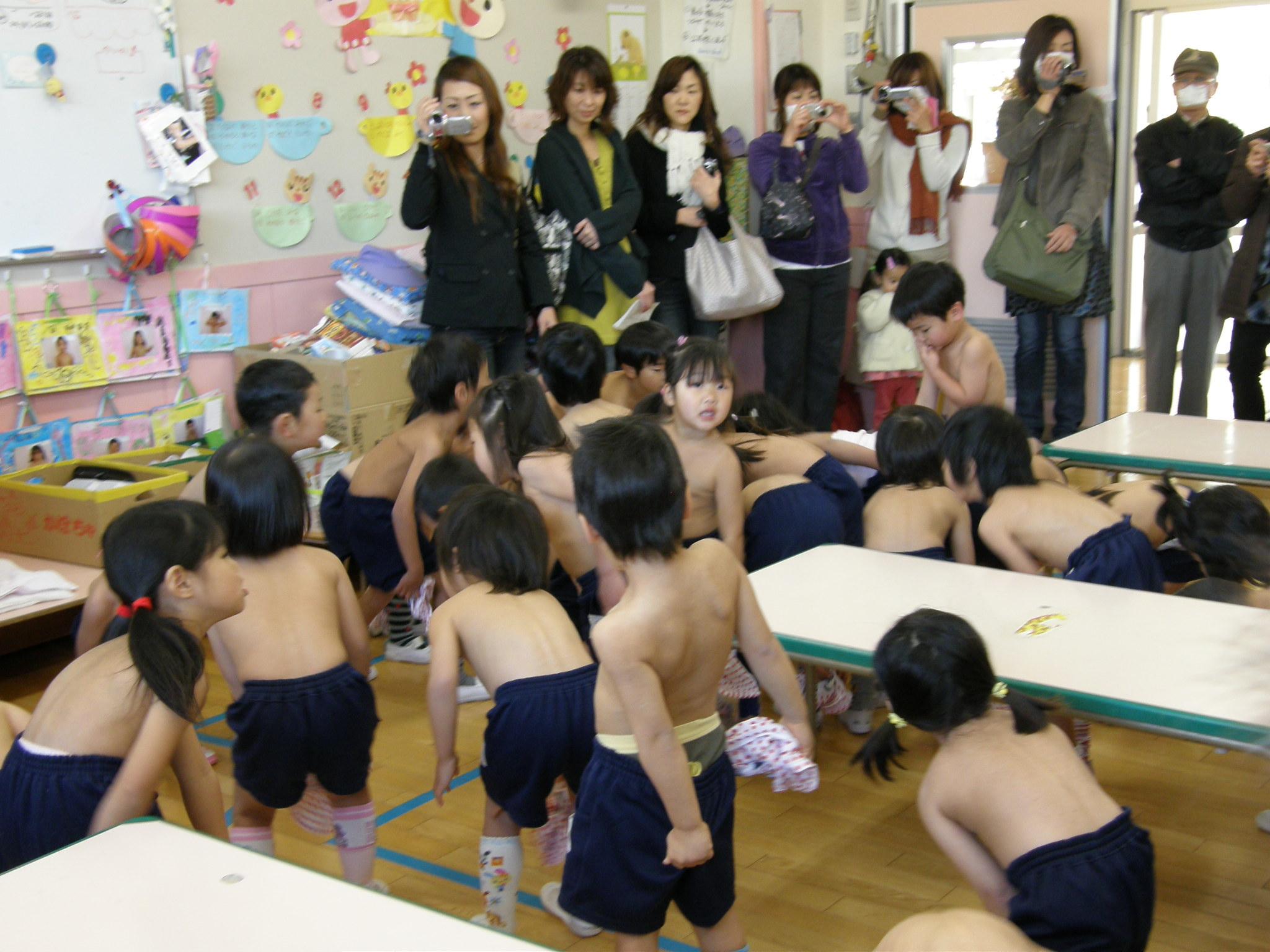 裸で乾布摩擦 2009.02.18_2