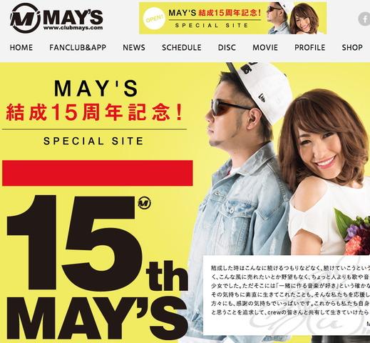 MAY'S 15th