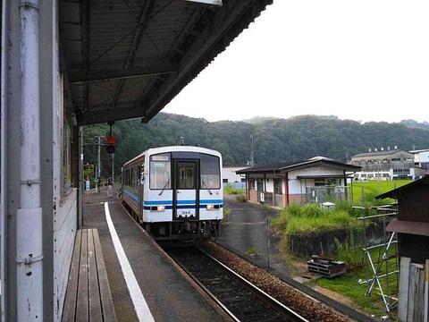 三江線口羽駅