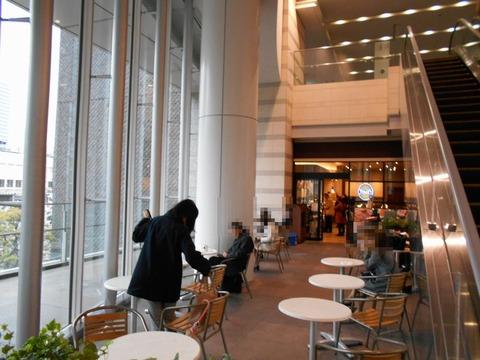 タリーズコーヒー 品川インターシティ-オープンスペース