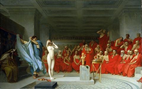 フリュネの裁判