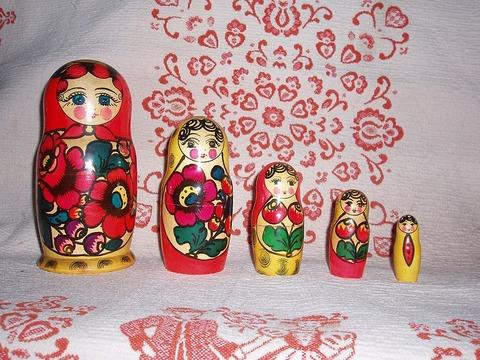 Russian-Matroshka マトリョーシカ