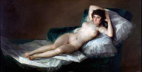 フランシスコ・デ・ゴヤ作『裸のマハ』