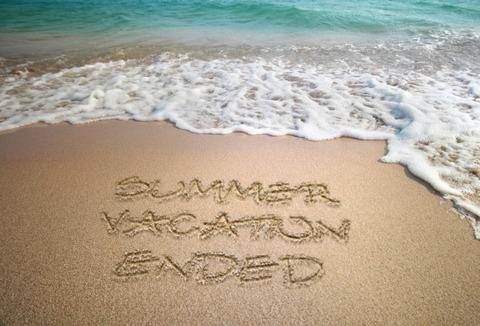 夏休みの終わり