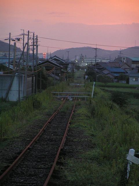 三木鉄道廃線跡
