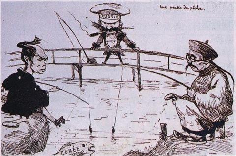 日清戦争の風刺画