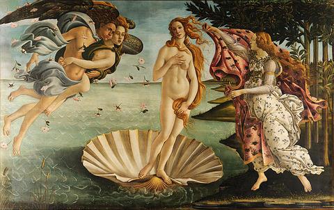 サンドロ・ボッティチェッリ作『ヴィーナスの誕生』
