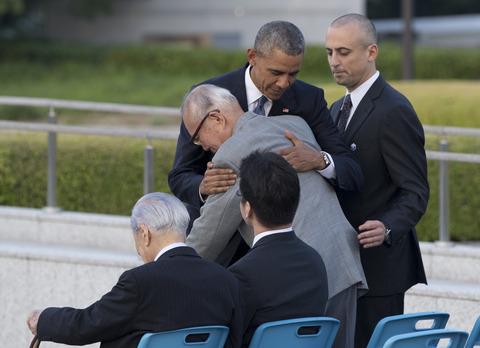 オバマ大統領、広島にて