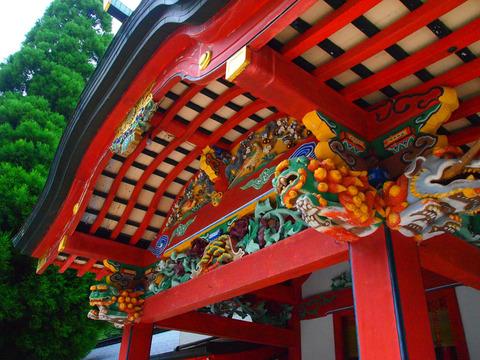 霧島神社の屋根