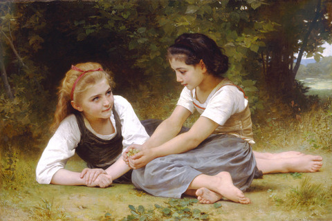 William-Adolphe_Bouguereau_The_Nut_Gatherers