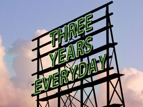ThreeYearsEveryday