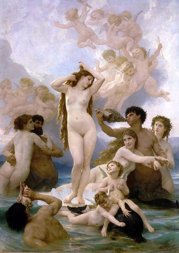 William-Adolphe_Bouguereau_The_Birth_of_Venus