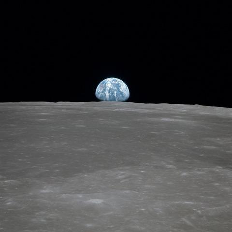 月面からの地球