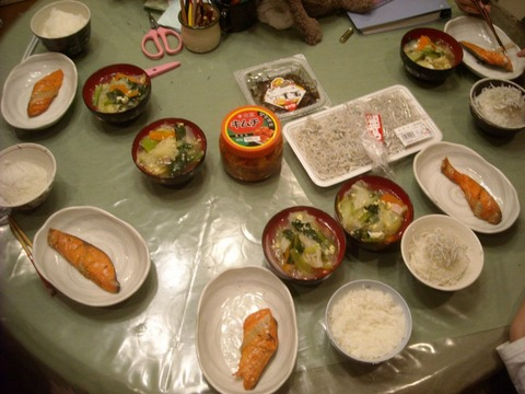 【男の料理】食卓