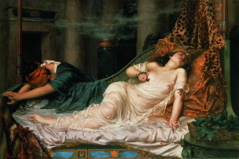絶世の美女と言われたクレオパトラ