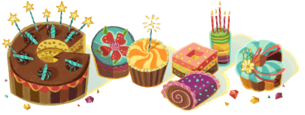 誕生日2015年Google