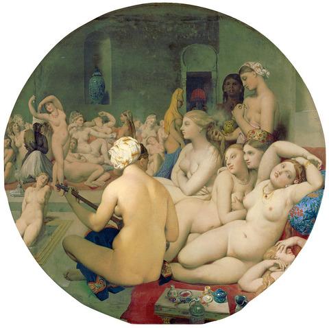 ドミニク・アングル『トルコ風呂』