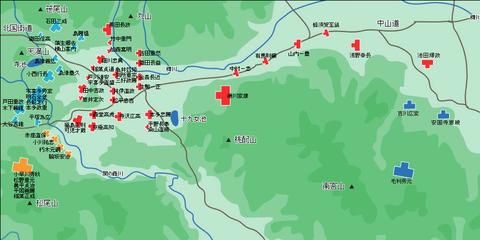 関ヶ原布陣図