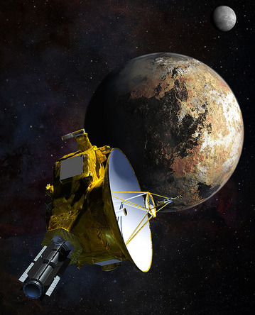 冥王星へ向かうニューホライズンズ