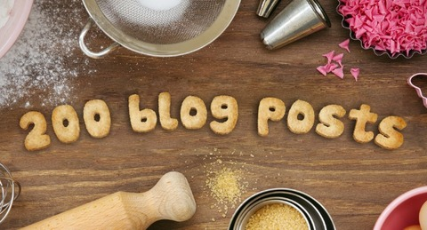 PhotoFunia-200-blog-posts