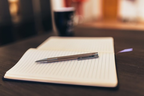 coffee-notebook-pen-writing