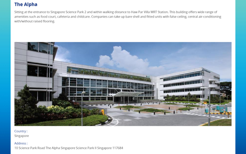 Singapore Science Park 2