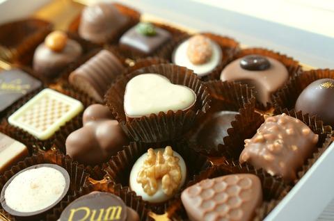 チョコレート-食品-キャンディ-カロリー-ニブル-心-491165