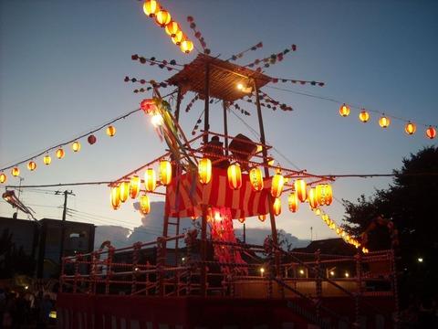 豊玉西町会盆踊り2015年