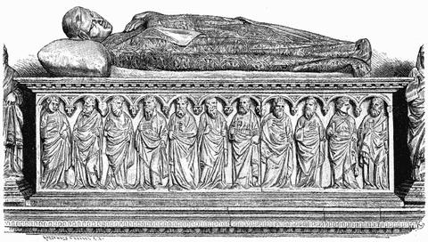 ハインリッヒ7世の墓