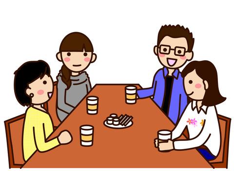茶話会男女