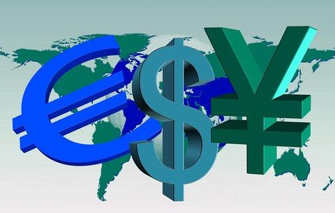 通貨・ユーロ・ドル・円