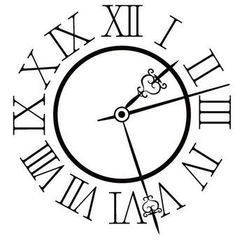 アンティーク時計 黒