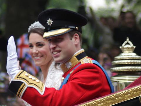 ウィリアム王子とキャサリンの結婚式